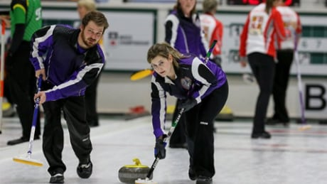 Ontario continues perfect ride at Canadian Mixed Curling Championship