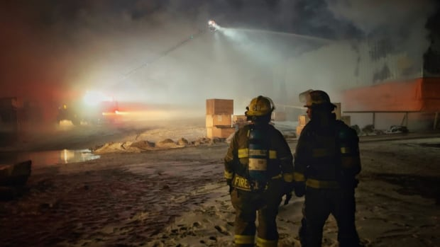 Fire at Northmart grocery-merchandise store in Iqaluit forces evacuations | CBC News