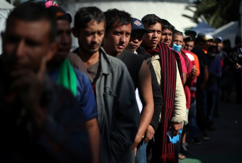 Immigrant Caravan Marches Towards Central Mexican City Of Irapuato