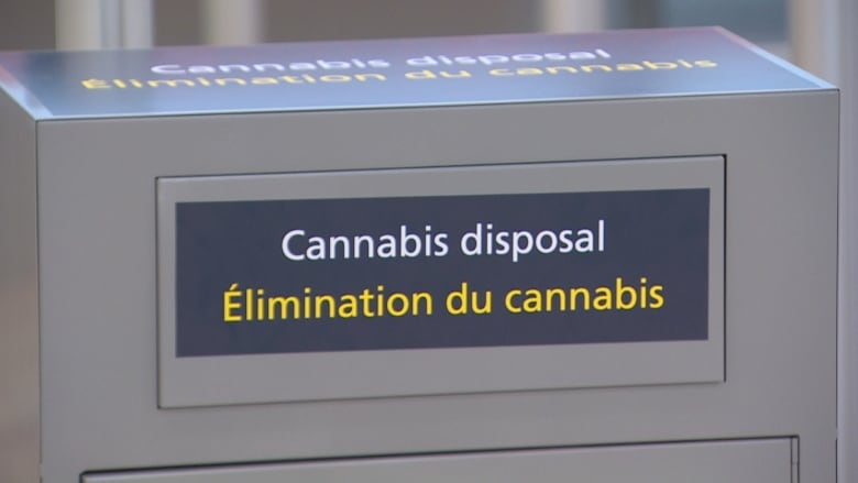 Edmonton airport sees no errant cannabis 3 weeks after legalization