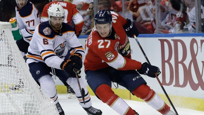 Edmonton Oilers fall in Florida for 3rd straight loss