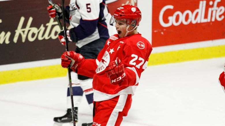 Barrett Hayton takes over as OHL gets win in Canada-Russia