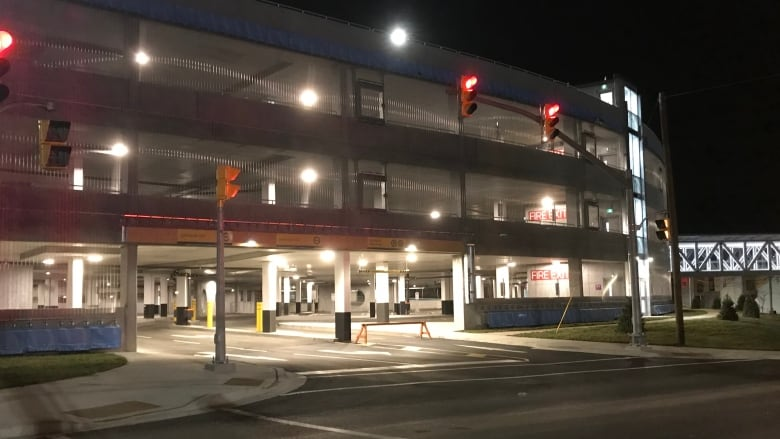7c82ddbdd1 The new Avalon Mall parking garage on O Leary Avenue officially opens Nov.  9. (Fred Hutton CBC)