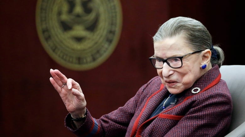 Ruth Bader Ginsburg released from hospital after fracturing three ribs in fall