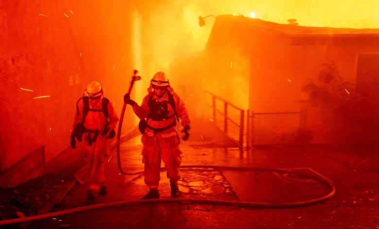 157,000 People Evacuated As Fires Burn in Northern, Southern California