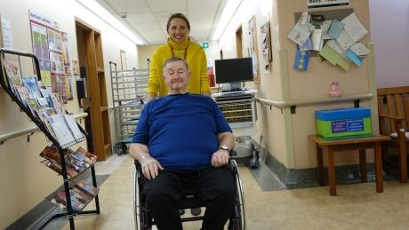 Injured Dunrobin farmer's return to snowplowing a 'miracle'   CBC