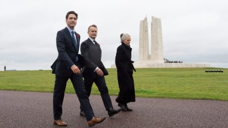 'Thank you' to veterans: Trudeau starts weekend of armistice events at Vimy Ridge