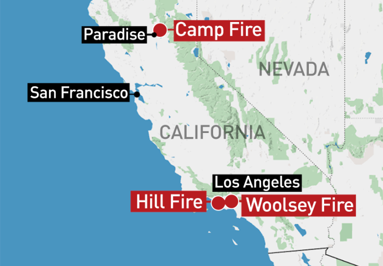 Northern California Wildfire Now Deadliest In State History Cbc News