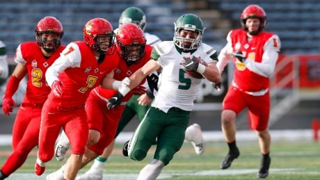 Huskies run for the Vanier Cup must go through No. 1 ranked Mustangs