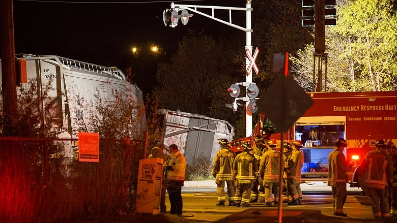 No One Injured After Freight Train Carrying Industrial Chemical