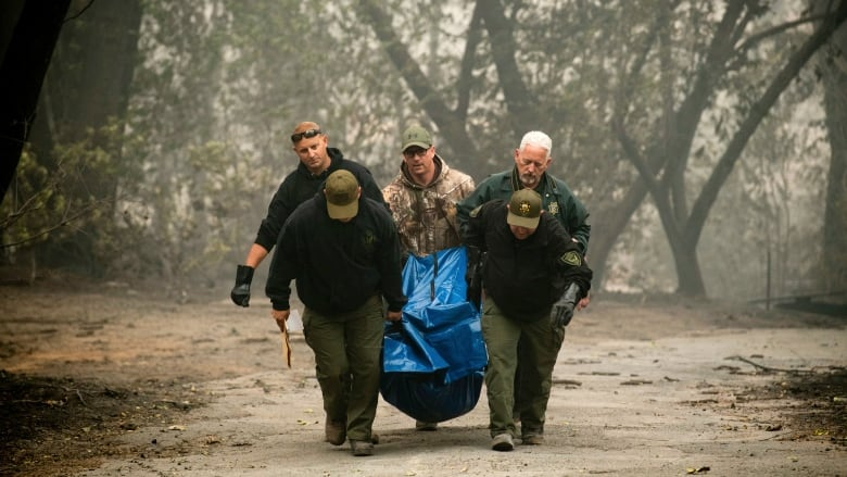 For many California wildfire evacuees, there's nothing left to return to
