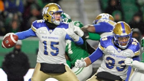 Blue Bombers golden when it mattered most in West semifinal