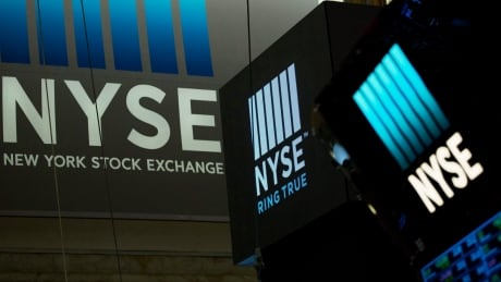 NYSE sign
