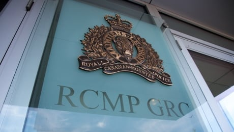 RCMP Exterior Logo Window