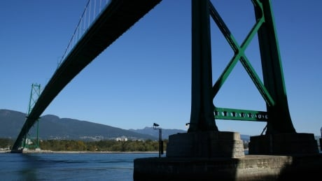 The best way to photograph Vancouver is from under a bridge, apparently