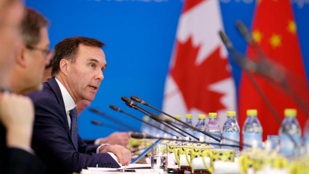 Journalists barred from Morneau speech in Beijing a day after Trudeau praises free press