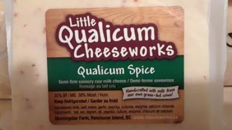 Public asked to toss Qualicum Spice cheese after E. coli outbreak