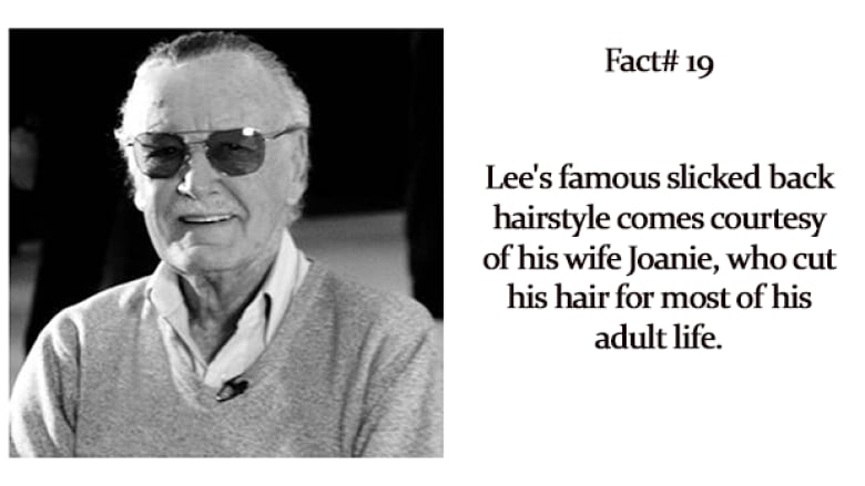 95 Facts About Marvel Comics Legend Stan Lee Cbc Books