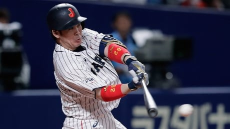 Japan pulls ahead late vs. MLB All-Stars to clinch exhibition series