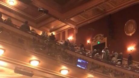 Pro-Nazi and pro-Trump outburst at Baltimore's Hippodrome Theatre