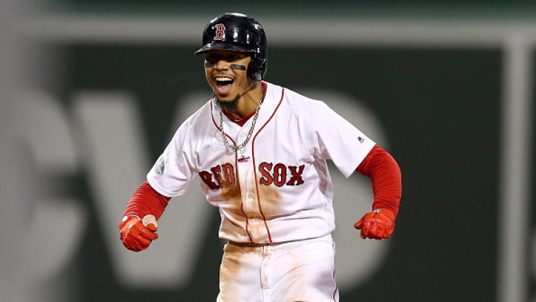af05c3dab Red Sox s Mookie Betts caps off winning year with MVP award