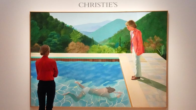 David Hockney painting fetches record $ 90 million at NYC auction