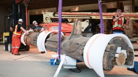 Irreplaceable totems moved aside for Museum of Anthropology seismic upgrades