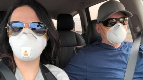 B.C. couple who planned holiday to Paradise spend vacation helping wildfire evacuees