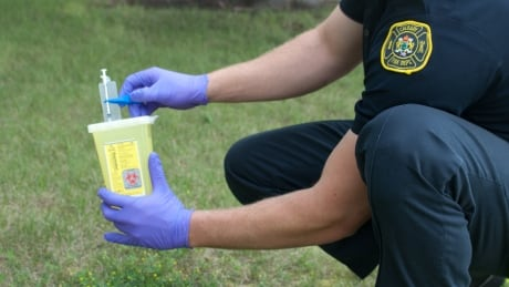 Firefighters see needle clean-up requests quadruple with no area 'really untouched'