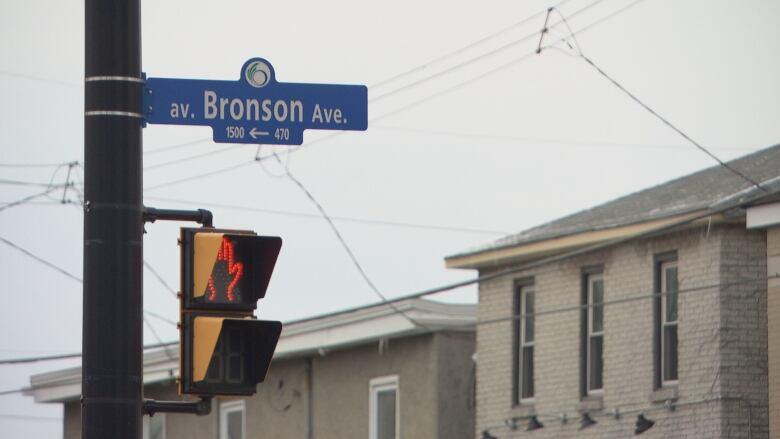 Construction on Bronson Avenue under the Queensway has begun