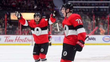 'You couldn't draw it up any better,' says Drake Batherson after NHL debut