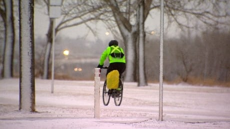 Southern Albertans wake up to snow, wind and poor visibility