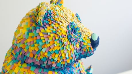 Colourful Canadian bear charms cake bosses at international confection competition