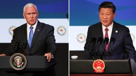 Pence Xi APEC summit