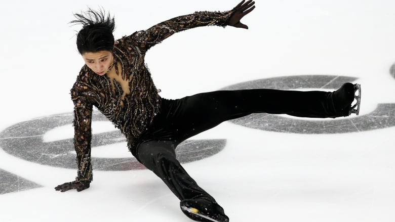 Yuzuru Hanyu not at his best, but golden at Grand Prix of