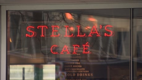 Stella's exterio sign Winnipeg Nov 2018