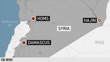 U.S.-led airstrikes kill at least 40 in last ISIS-held area of Syria