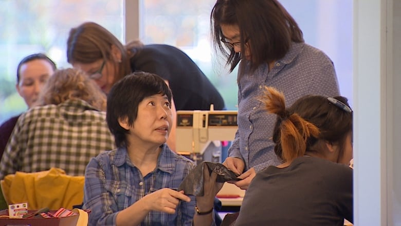 'I want it to last as long as it can': Clothing fix-it workshop in Vancouver saves textiles from landfills