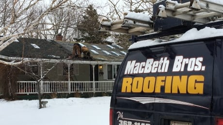 Island roofers swamped with calls following wind damage