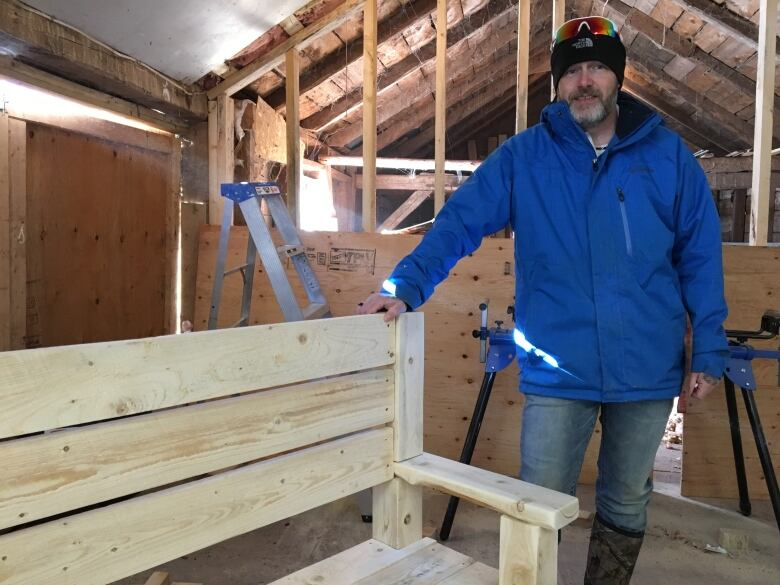 How Woodworking Is Helping An Island Veteran Cope With Ptsd