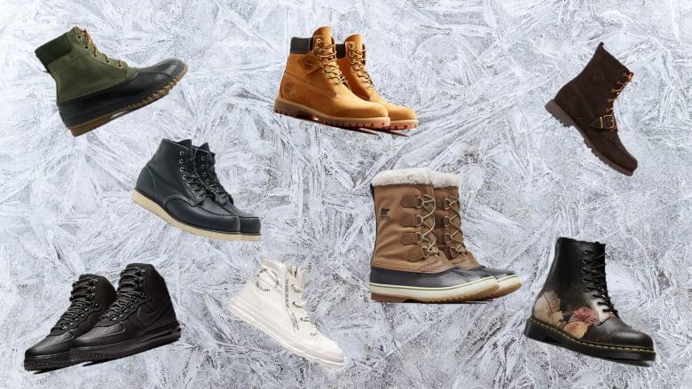 Mens Fashion Winter Boots