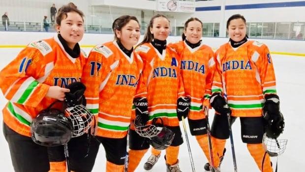 India's 1st women's hockey team enjoys smooth skating in Alberta | CBC News