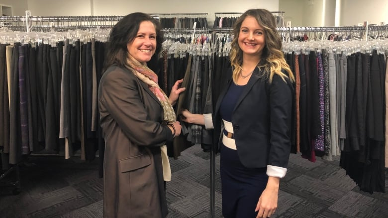 clothing store dress for success helps women going back to work gain