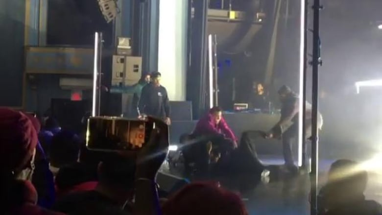 Pusha T attacked on stage during Toronto concert