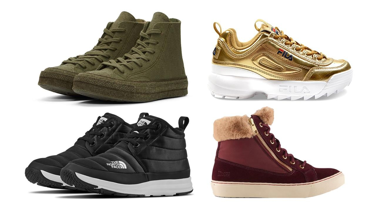 The ultimate winter sneaker roundup