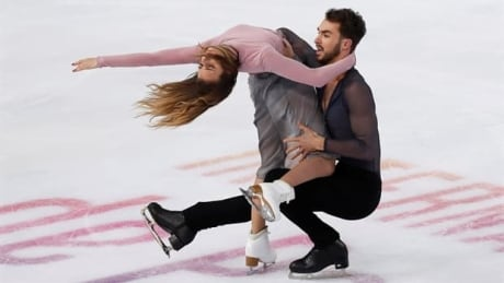 French duo Papadakis, Cizeron dance to gold medal on home ice