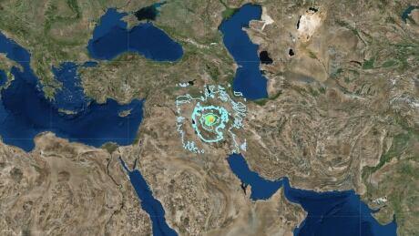 iran earthquake 25-11-2018