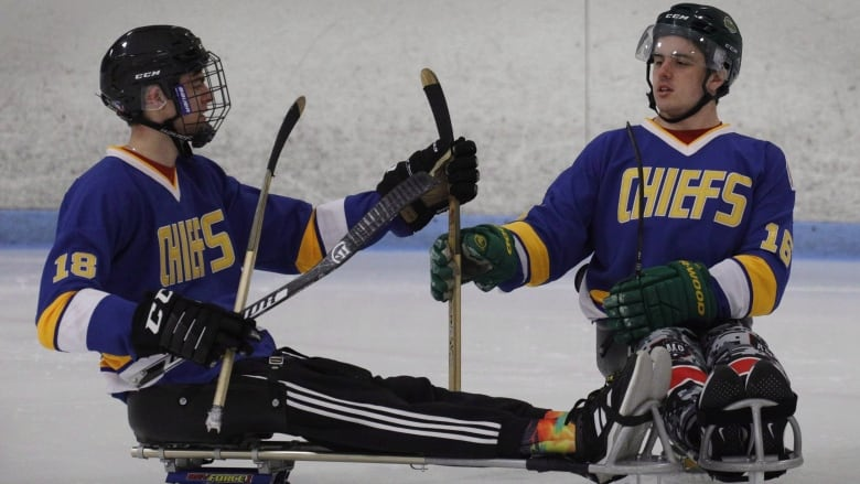It's a grind': Paralyzed Humboldt Broncos goaltender seeing