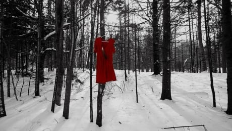 Red dress photography by Patricia Bourque