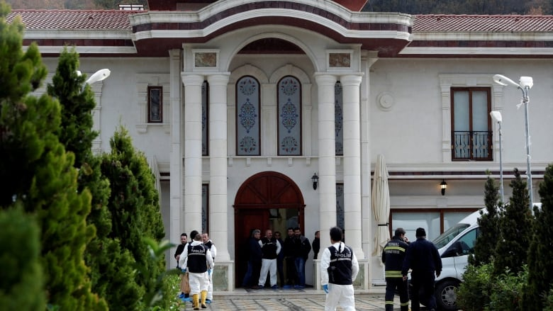 Khashoggi murder: Police searching villa in NW Turkey